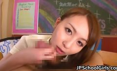 Bukakke session with nice teen Jessica