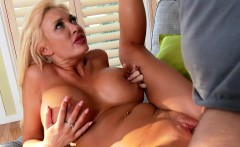 Platinum blonde Summer Brielle fuck her neighbor
