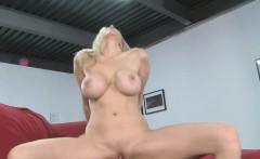 Sexy blonde mom Julia Ann gets big jugs fucked