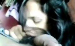 Indian Chick Giving Her Man Head POV