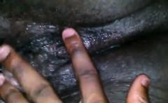 big black womans wet pussy close up