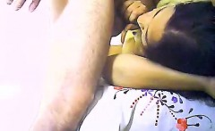 Motel room lovers spend their day asking for a blowjob that