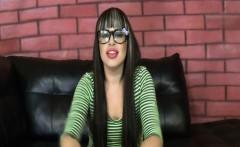 Latina chick mouth fucked very hard