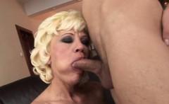 Italian mom hard anal fuck