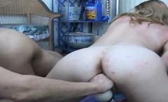 Hot secretary painful anal