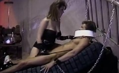 Christy Canyon, Peter North in bdsm mistress lets the slave