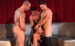 Muscle jock assfucked before cumcovered