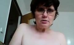 Naughty Grandma Gets Naked