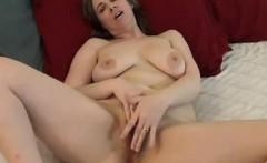Big Titty Milf Masturbates To Orgasm On Webcam
