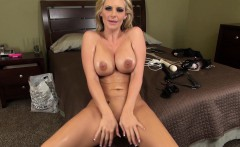 Big tit pro Phoenix Marie oils up and puts on a masturbation show