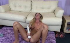 Lovely Alysha Rylee enjoys the pleasures that a big vibrator provides