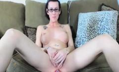 Hot Sexy Nerd Tranny Masturbate Solo on Cam