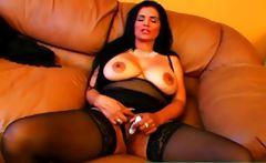 Big tits mature divorcee Dora