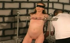 Horny slut tied and dominated by master