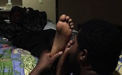 Choked under the toes of playboyJ5261
