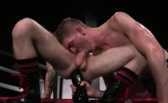 Man gay anal sex Slim and smooth ginger hunk Seamus O'Reilly
