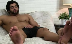 Gay black male feet movies Alpha-Male Atlas Worshiped