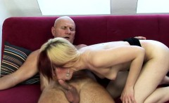 Teen chick fucked by grandpa