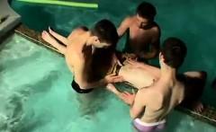 Thin boy gay sex movie gallery Undie 4-Way - Hot Tub Action