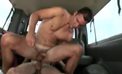 White male straight gay porn Trolling the bus stop