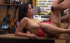 Bigtits Nina pawn her grandpas watch and gets fucked