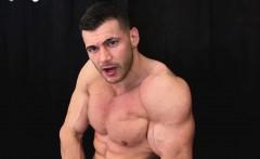 Fresh bodybuilder cum is good for the skin