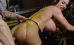 Luscious Babe Cathy Heaven Gets Her Holes Filled Up