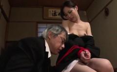 Misaki Yoshimura, obedient babe, fucked with toys