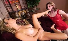 Hot mom domination and cumshot