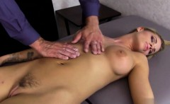 Hot submissive fetish with cum in mouth