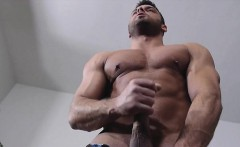 Big dick gay blowjob and facial