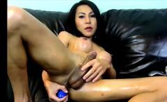 Huge tits ladyboy enjoys her model that is anal