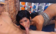 Hot and Horny Tranny Couple in Hot Anal Sex