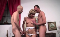 Extrem Hot German Teen Get First Threesome in Porn Casting