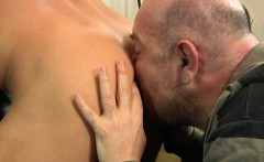 Euro amateur hunk cocksucked and rimmed