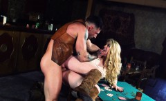 Misha Cross In Rawhide Scene 1