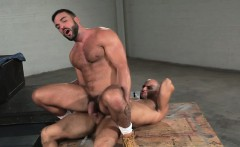 Hairy gay anal sex and cumshot