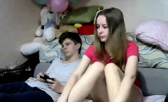 Amateur pussy masturbation on webcam