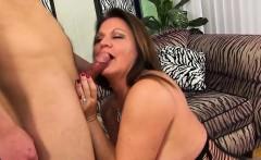 BBW granny gets a young cock
