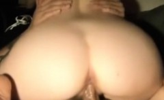Lovely cutie gives head and rides cock on cam