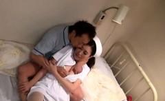 Men with large schlongs amazing sex with japanese nurses