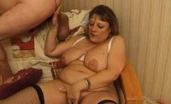 Teen slut in mature fucks young sex action