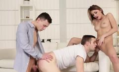 Slut tasted in bi 3some