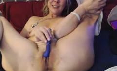 Incredible hot mature in stockings solo loving with toys