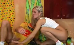 Youthful craves to overdose on her man's large dick