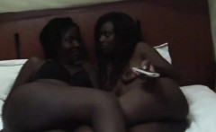 Amazing African babes lick each others pussy and having fun