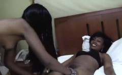 African hotties are ready for some bedroom lesbian action.