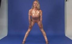 Amazing naked gymanstics by Vetrodueva
