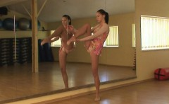 Lata Pavlova pink dressed flexy girl