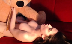 Sexy Teen Puts On A Solo Show With Toys